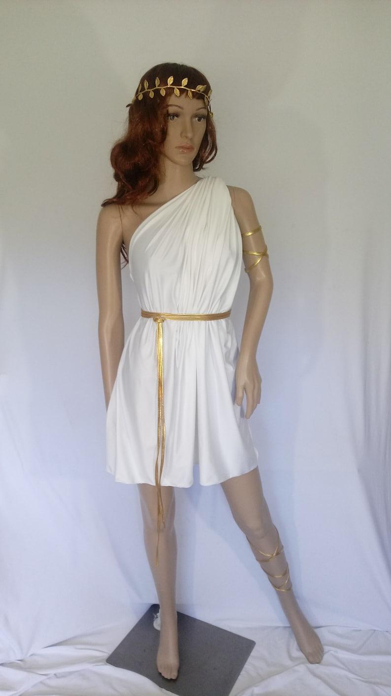 52d673fa12fd Greek goddess toga Aphrodite Venus Spartan festival Fantasy | Etsy