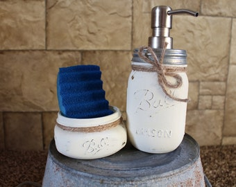 Mason Jar Soap Dispencer