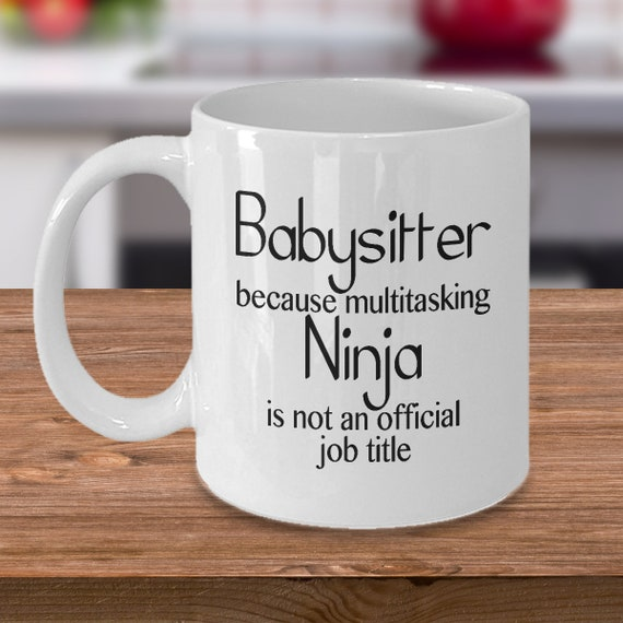 Best Babysitter Mug Coffee Cup Appreciation Gifts