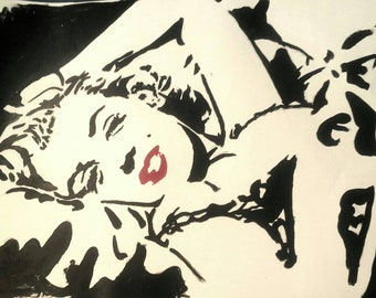 Marilyn Manor painting