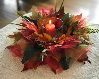 Handmade Fall Table Centerpiece, Wedding Centerpieces , Baby Shower  Centerpieces, Custom And Handmade Centerpieces.
