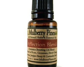 Affection Essential Oil Blend - 1/2 Ounce Bottle - Mulberry Pines