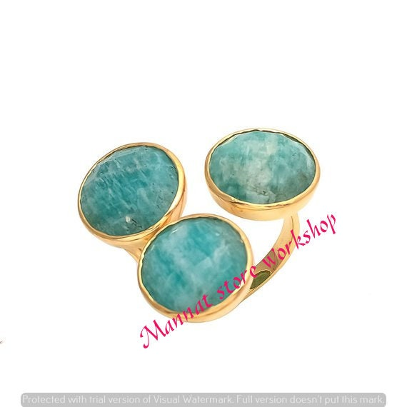 wedding rings,birthday ring Amazonite Gemstone Rings,.engagement ring