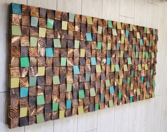 Wood Wall Sculpture Etsy