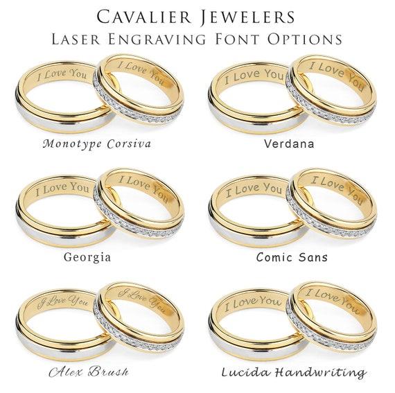 Mens Tungsten Wedding Band Mens Wedding Band Silver Ring | Etsy