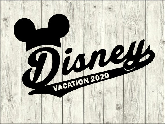 Disney 2020 Vacation Svg Bundle Disney Svg Bundle Disney Cut Etsy