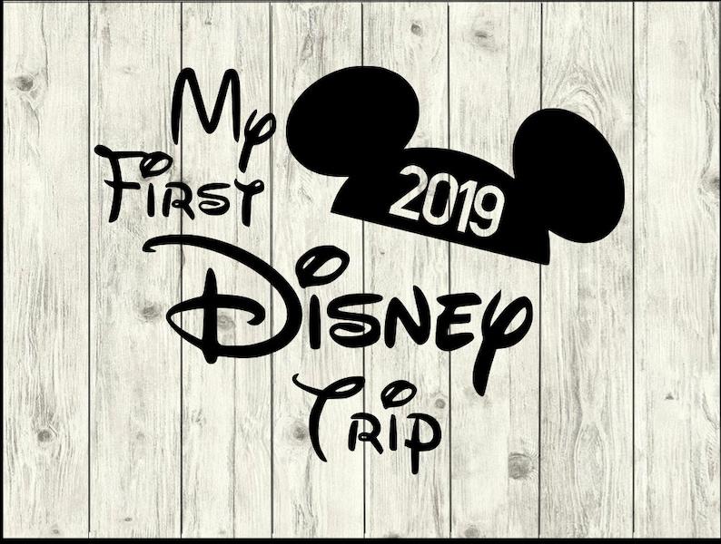 Disney 2019 SVG, Disney 2019 Vacation SVG, Disney cut file, Disney clipart,  Disney svg files for silhouette, files for cricut,svg, dxf, eps