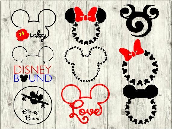 Mickey Craft Pattern Clipart Stencil cut file for DIY project Mickey Stencil Pattern SVG for cricut Mickey Silhouette SVG