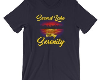 Secord Lake is my Serenity T-Shirt