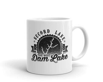 Secord Lake The Best Dam Lake Mug