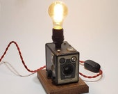 Kodak Brownie Six-20 Camera, Model D, Lamp