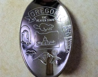 Portland Oregon Collectible Baby Spoon