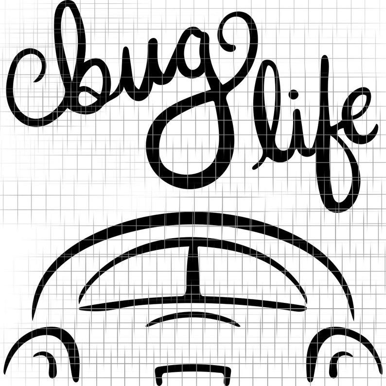 Download Bug Life SVG VW Beetle Cut file for Cricut Silhouette   Etsy
