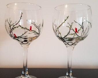 Cardinal Wine Glasses