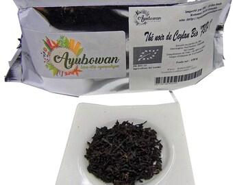 "Organic Ceylon black tea ""fair 1"" certified en organic 15 100 g"