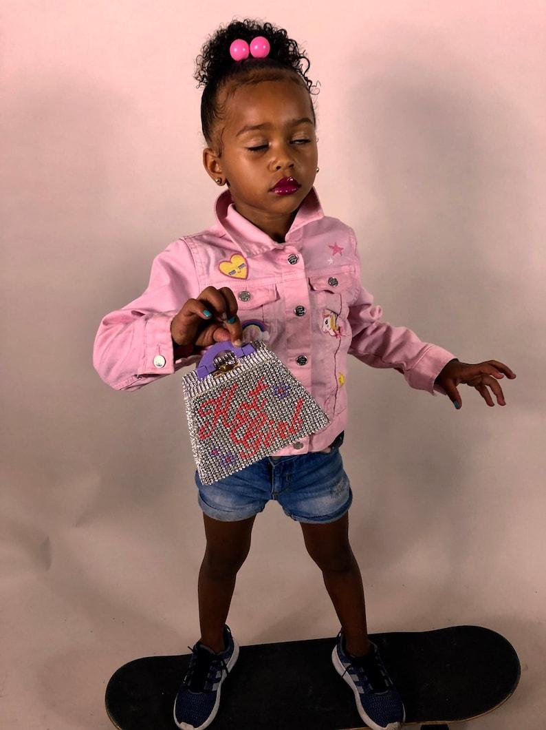 Hot Girl Summer mini bag mini purse micro bag micro purse meg thee stallion rhinestone purse crystal clutch diamond purse