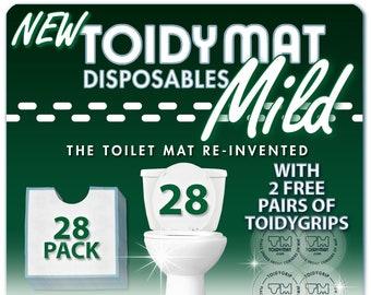 Toidymat Disposable Contour Mats For Bathroom Toilets By Toidymat