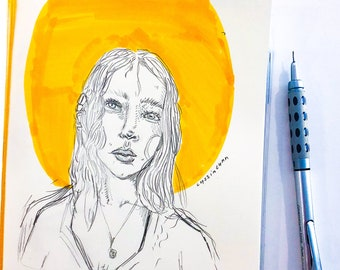 Custom Sketch Portrats