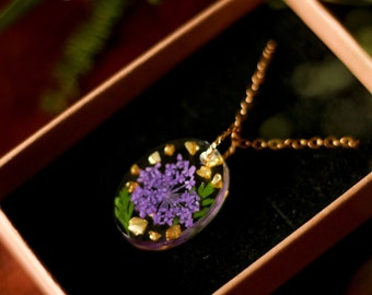 Necklace Agathe - Enchanted collection