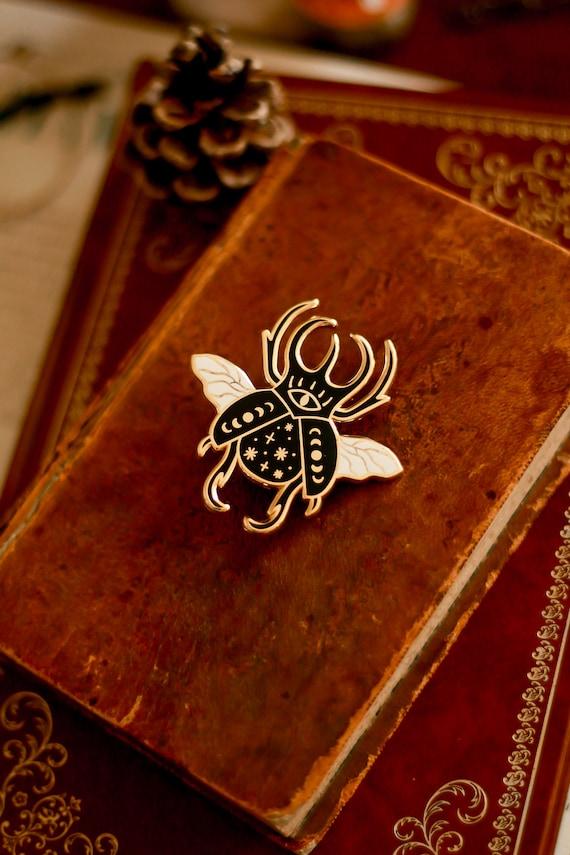 Pin's scarabée