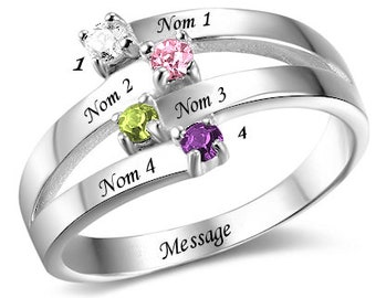Classic 4-personalized ring