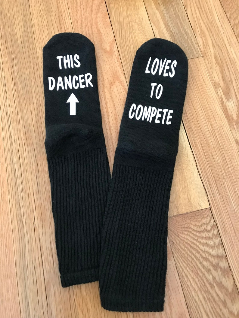 Dance Socks This Girl Loves To Compete