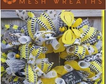 Bee's Knees Wreath