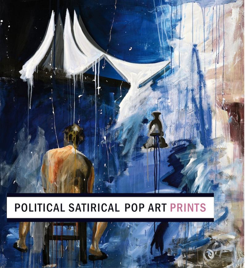 Utopia II by Dikla Stern  High-quality Fine Art Giclée Print image 0
