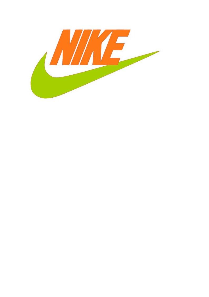 quite nice 57f1a 398b9 Nike logo 2 colors SVG File PNG Studio3 JPGE pdf  Etsy