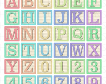 pastel alphabet blocks clipart alphabet clip art letter clipart baby blocks clipart wood block clipart number clipart digital alphabet