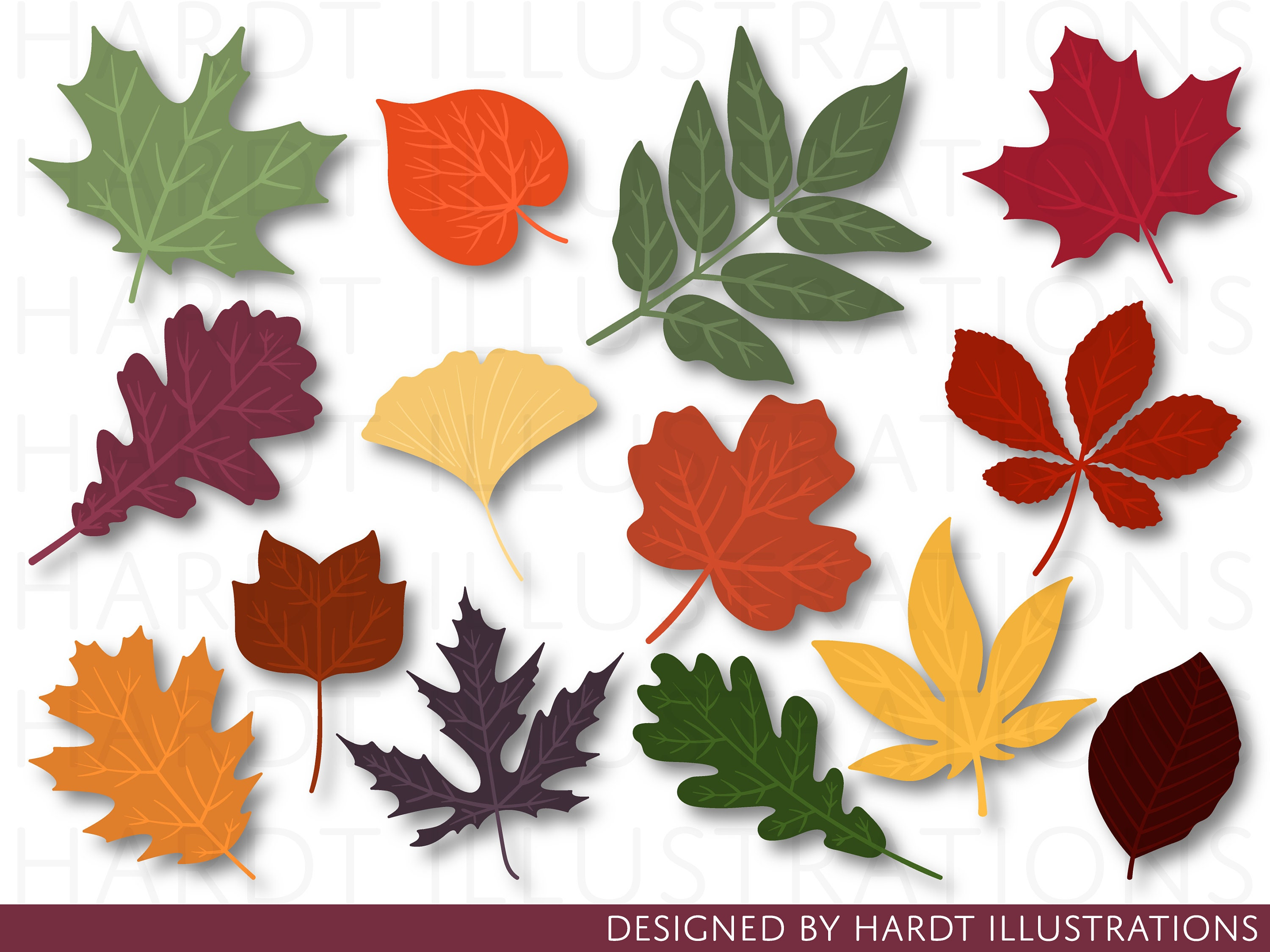 Autumn Leaves Clipart Autumn Leaf Clipart Fall Leaves Clip ...