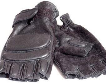 b2a53226e6675a Spezielle Leder SWAT Handschuhe mit Faust Schutz