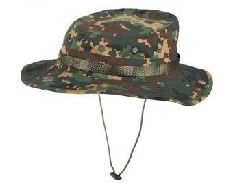 0657f79d05f Izlom camo panama boonie hat rip-stop fracture summer cap