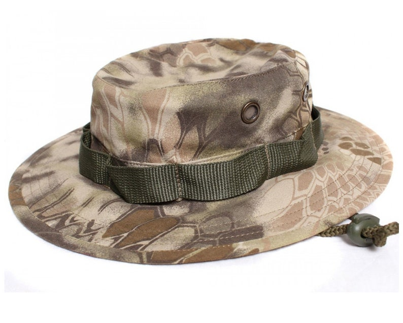 19fdc53835b Russian tactical summer Panama hat python rock camo