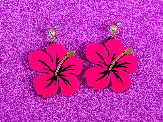Articles Similaires A Lilo Et Stitch Hawaien Hibiscus Boucles D