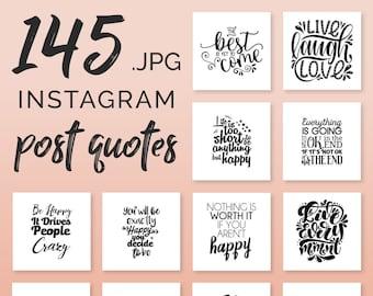 Instagram Quotes Etsy