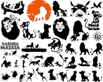 Lion King Characters Etsy