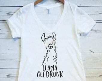 Drunk Llama Etsy