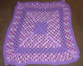 Granny Square Baby Blanket 4x4ft