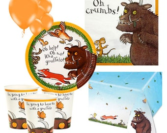 Gruffalo Party Pack for 8, 16, 24 or 32 kids (price shown for 8pk)