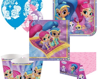 Shimmer & Shine Party Pack for 8, 16, 24 or 32 kids (price shown for 8pk)
