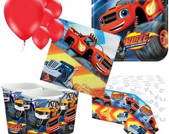 Blaze and the Monster Machines Party Pack for 8, 16, 24 or 32 kids (price shown for 8pk)