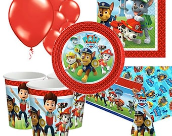 Paw Patrol Party Pack for 8, 16, 24 or 32 kids (price shown for 8pk)