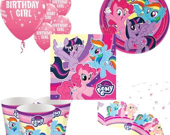 My Little Pony Party Pack for 8, 16, 24 or 32 kids (price shown for 8pk)
