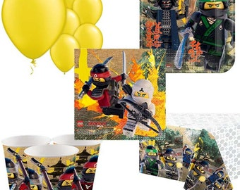 Lego Ninja Party Pack for 8, 16, 24 or 32 kids (price shown for 8pk)
