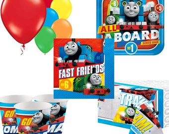 Thomas The Tank Engine Party Pack for 8, 16, 24 or 32 kids (price shown for 8pk)