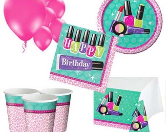 Sparkling Spa Party Pack for 8, 16, 24 or 32 kids (price shown for 8pk)