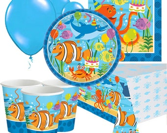 Ocean Buddies Party Pack for 8, 16, 24 or 32 kids (price shown for 8pk)