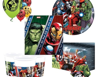 Avengers Party Pack for 8, 16, 24 or 32 kids (price shown for 8pk)
