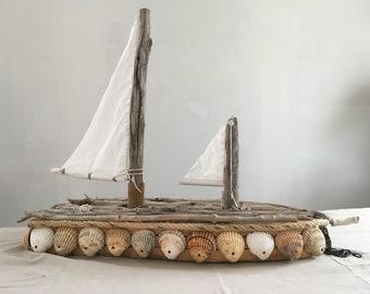 Boat fleet wood handmade